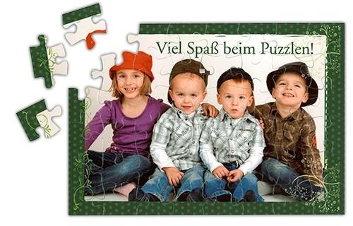 Puzzle DIN A5 inkl. Fotodruck