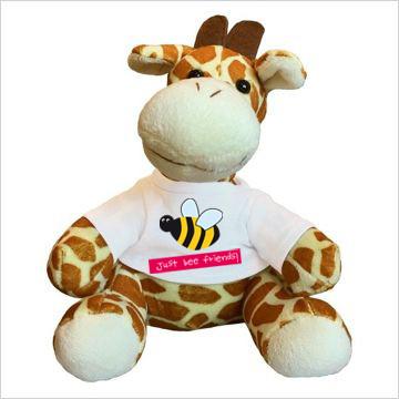 Giraffe mit Foto