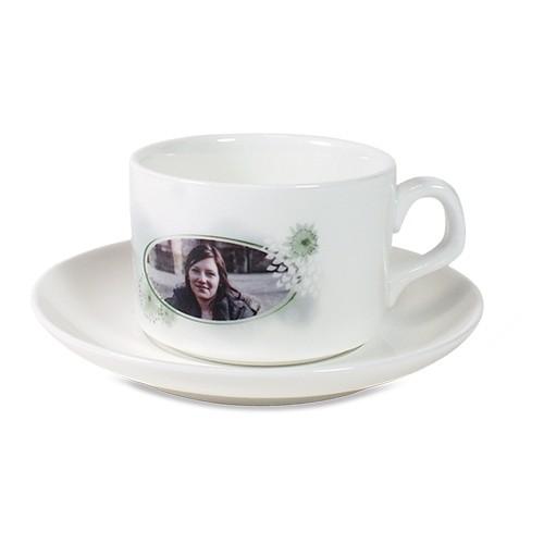 Kaffeetasse+ Untertasse mit Fotodruck
