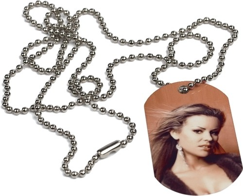 Halskette im ID-Tag-Style inkl. Druck