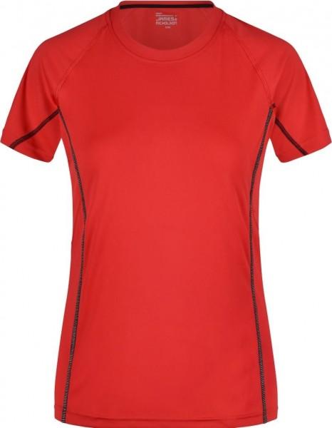 Sport-Shirt mit reflektierenden Details für Damen 422