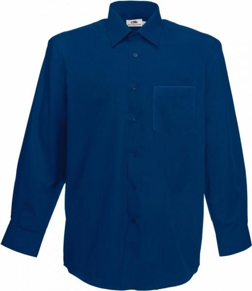 Mens Long Sleeve Poplin Shirt